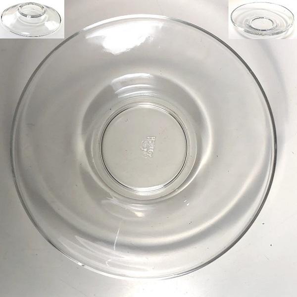 アデリアアデラックスガラスソーサーP512