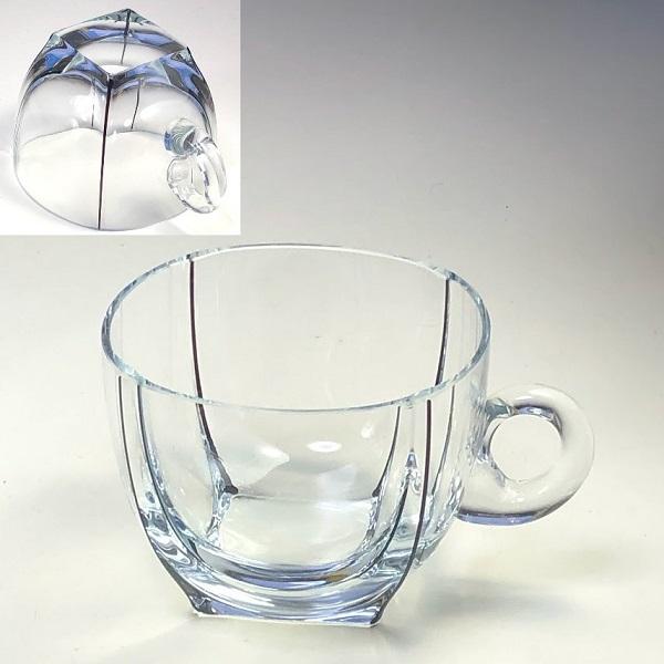 昭和レトロガラスカップC263