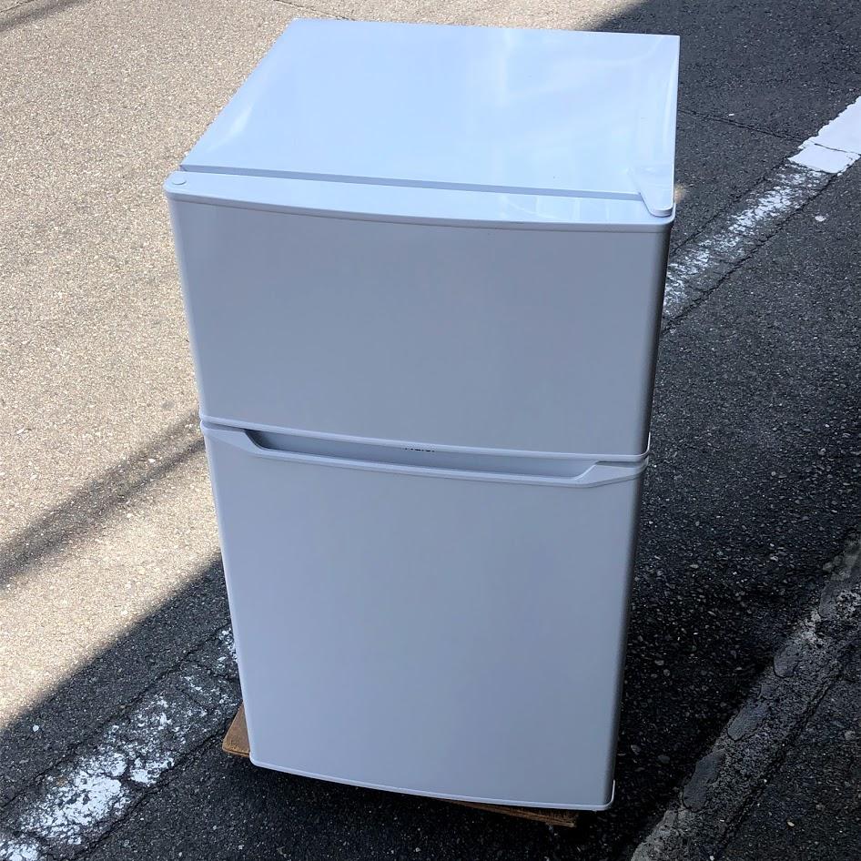 ハイアール JR-N85C 冷凍冷蔵庫 85L 2ドア 2019年製