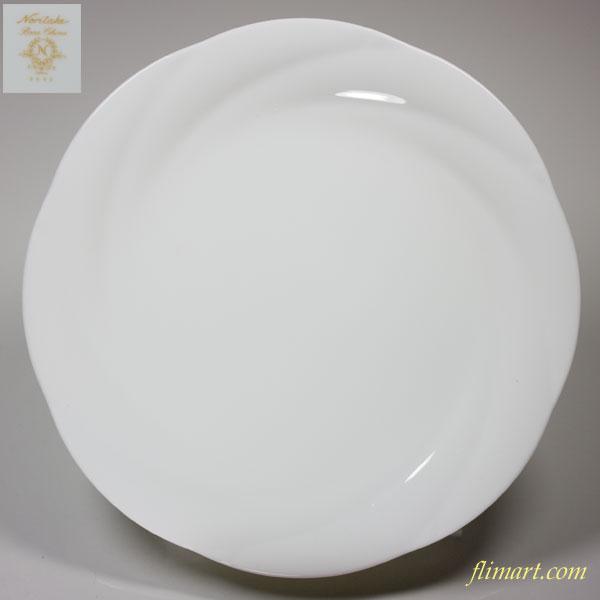 ノリタケアンサンブルホワイト ENSEMBLE WHITE 18cmプレート