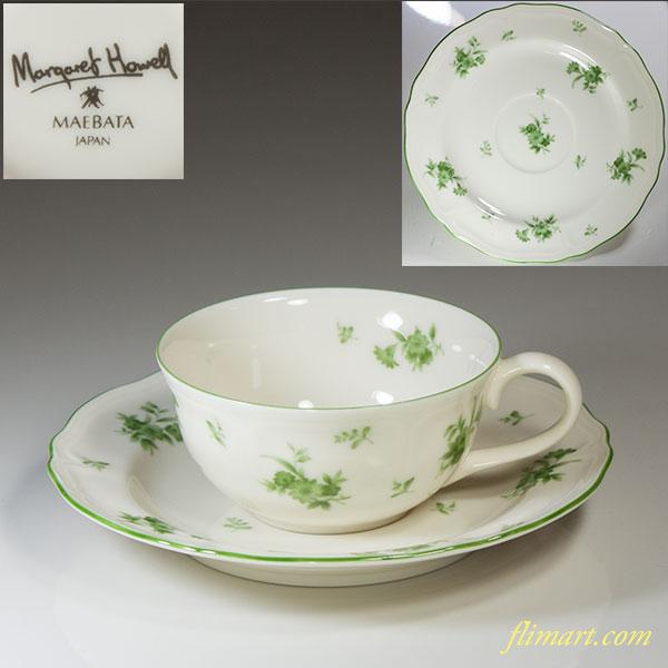 前畑陶器マーガレットハウエルカップ&ソーサー
