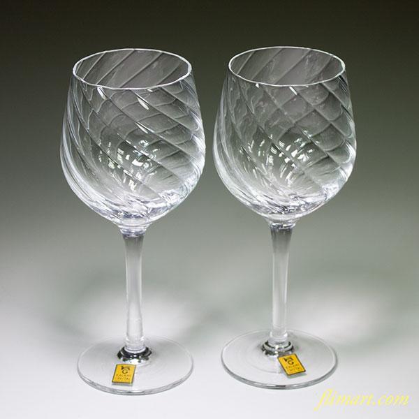 カガミクリスタルバーガンディーワイングラスペア