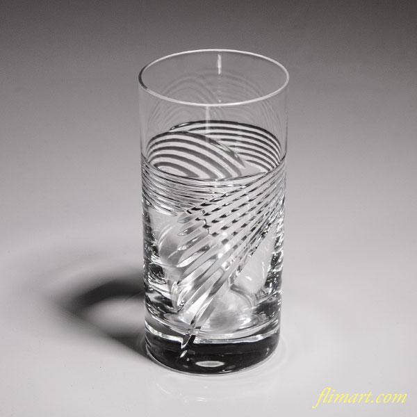 クリスタルガラスコップT1652