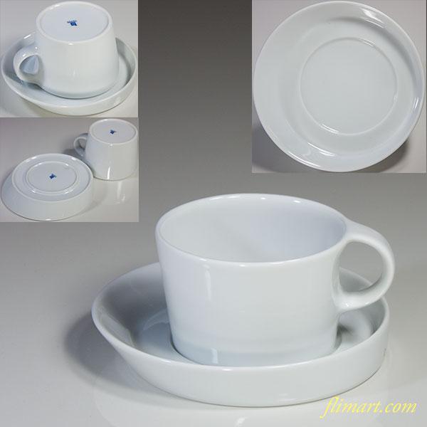 白山陶器LEANカップ&ソーサー