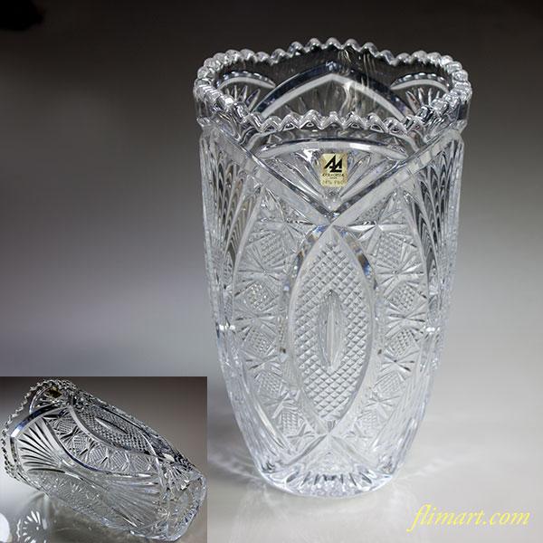 石塚ガラスアデリアクリスタル花瓶