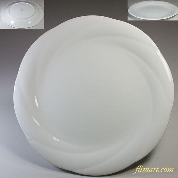 ノリタケアンサンブルホワイト ENSEMBLE WHITE 26cmプレート