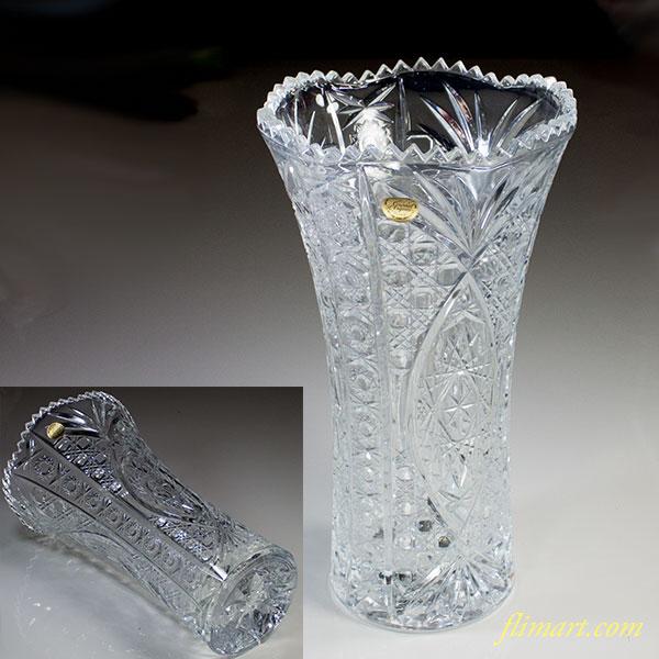 クリスタルダルクシェネ30cm花瓶