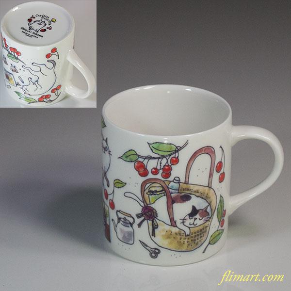 吉沢深雪キャットチップスフルーツスタイルマグカップ