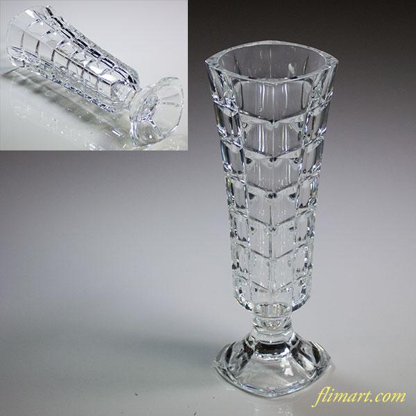 クリスタルダルク花瓶T1723