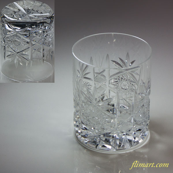クリスタルガラスロックグラスT1713