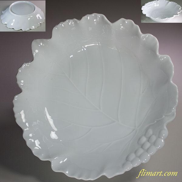 ニッコー葉型22cmスープ皿