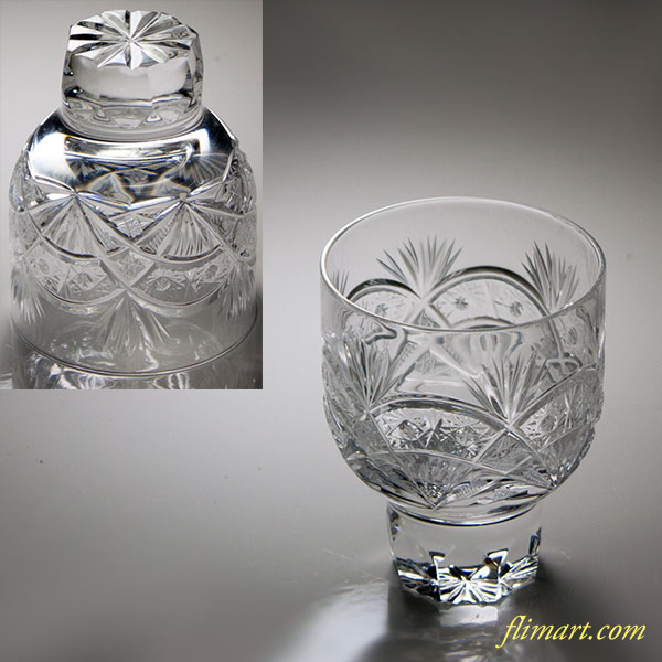 BOSPORUSボスポラスクリスタルガラスショットグラス