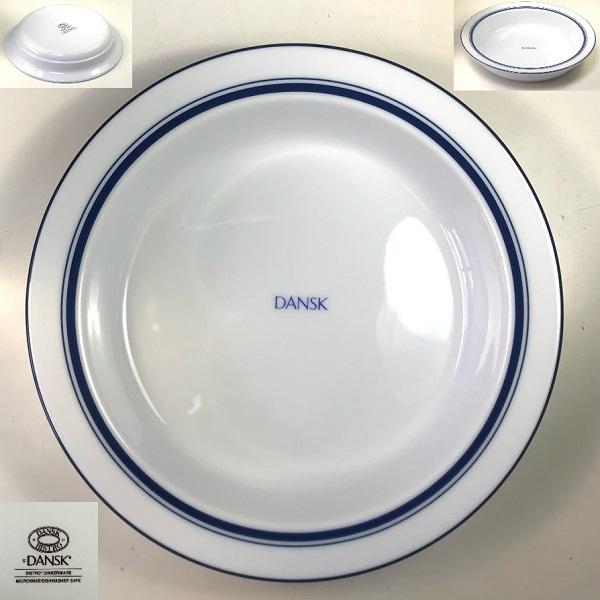 ダンスクビストロ20cmシチュー皿