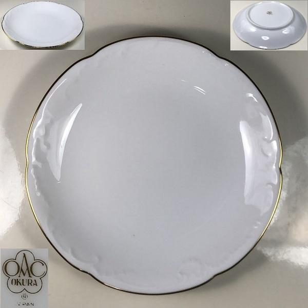 大倉陶園ゴールドライン15cmプレート銘々皿