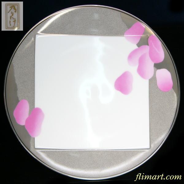 乃りたけノリタケ風光盛皿27cmプレート