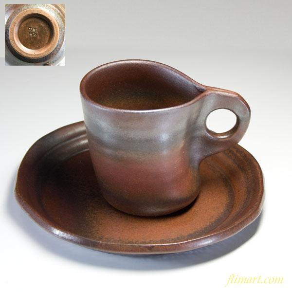 珈琲碗皿茶カップ&ソーサーW251