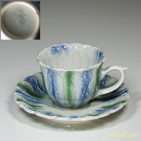 碗皿青磁W463