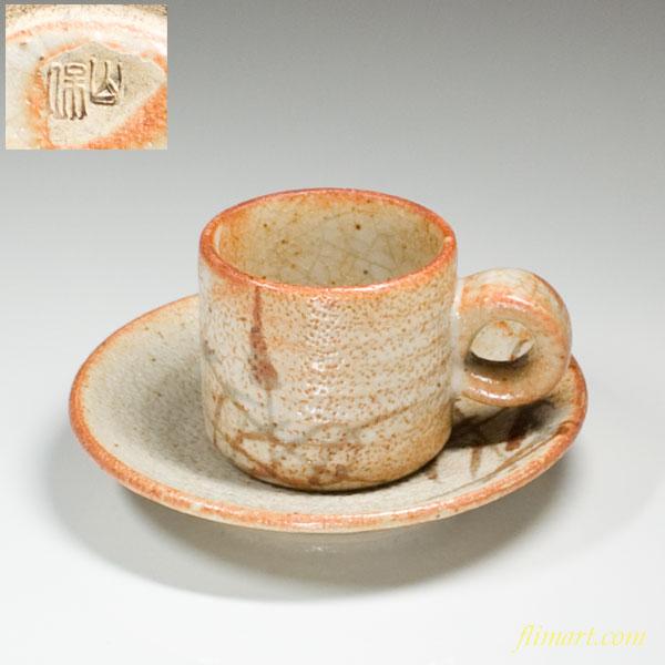 志野碗皿W551