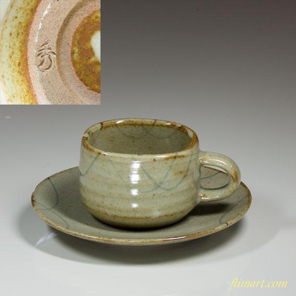 美濃焼き秀山窯碗皿