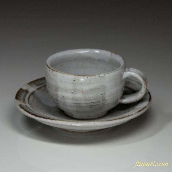 益子焼碗皿W82