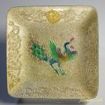 七宝鳳凰天平の美正倉院写し銘々皿五枚セット