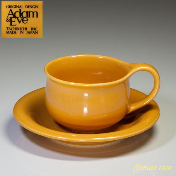 たち吉Adam&Eveカップ&ソーサー
