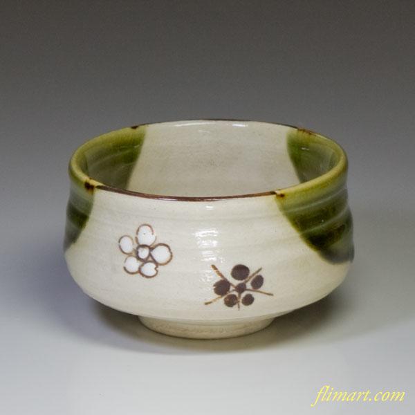 織部茶碗W1453