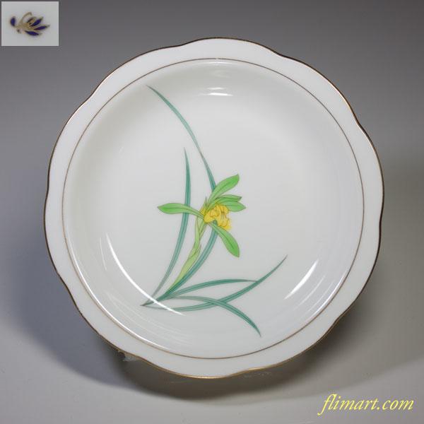 香蘭社蘭小皿W1619