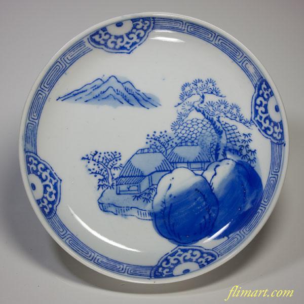 染付小皿W1601