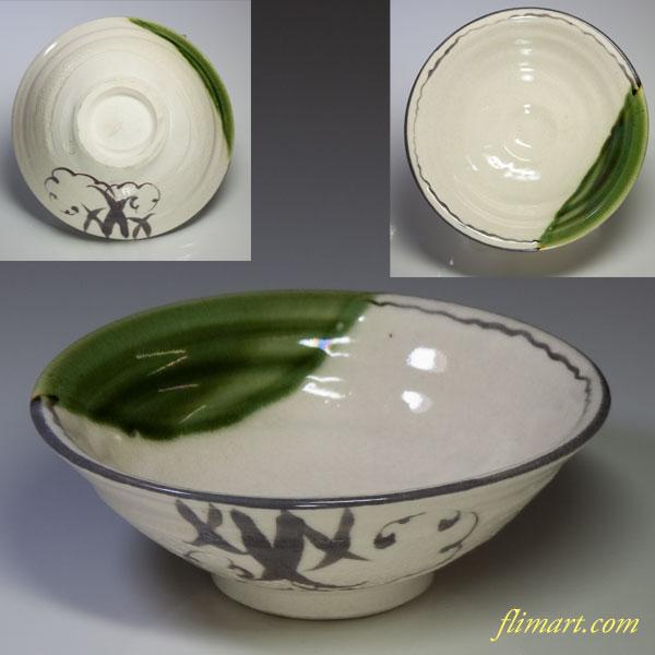 織部茶碗W1656