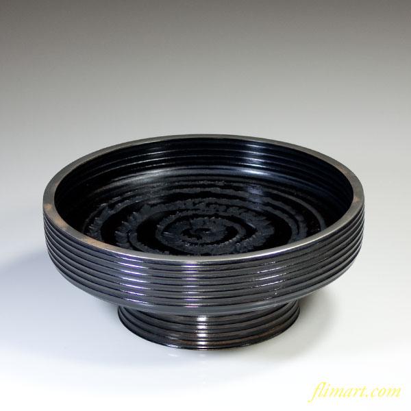 象谷塗高足鉢