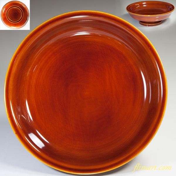 春慶塗高足八寸鉢