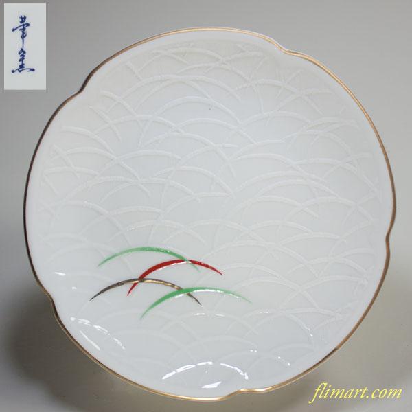 華窯五寸皿W2329