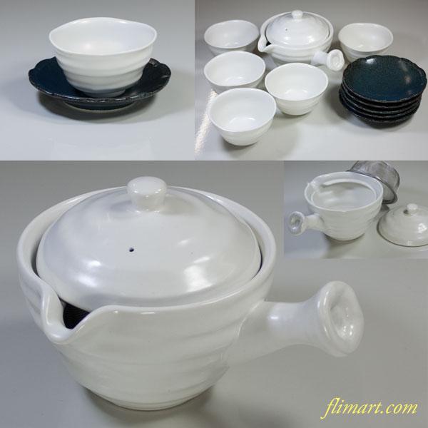 第一陶器わびあそび急須湯呑茶托付茶器揃