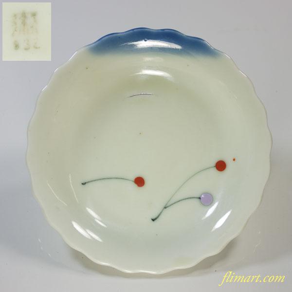 統制陶器「瀬332」小皿W2281