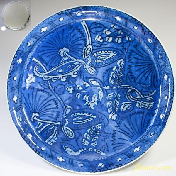 染付八寸皿W2315