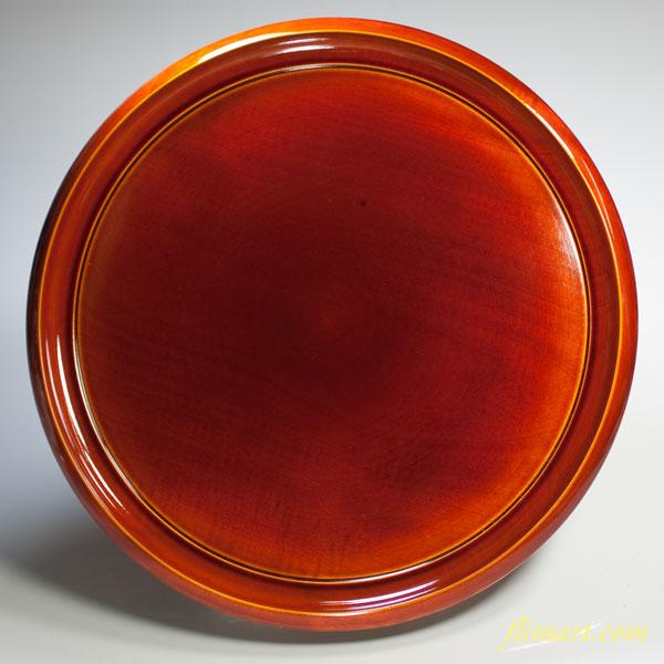 春慶塗丸盆W2343