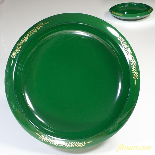 緑漆器菓子鉢