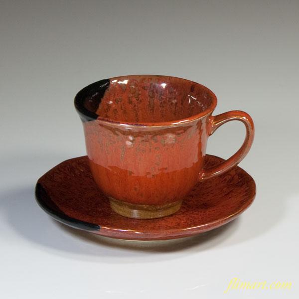 辰砂碗皿W2486
