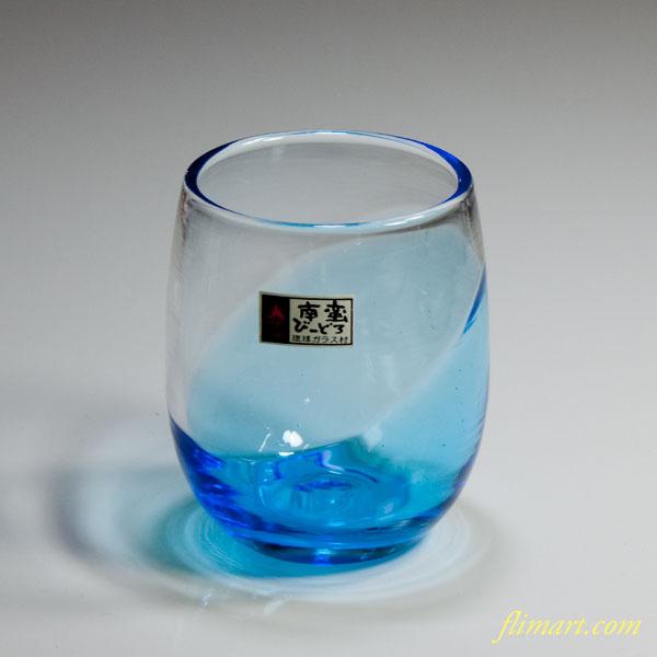 琉球ガラス南蛮ビードロコップ