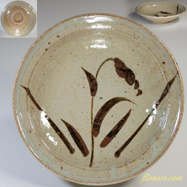 唐津焼鏡山窯六寸鉢