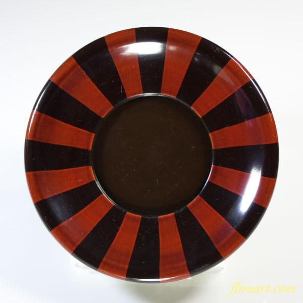 木製漆器茶托W2679
