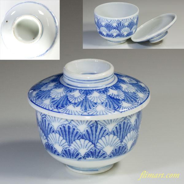 印判手蓋付碗茶碗蒸し