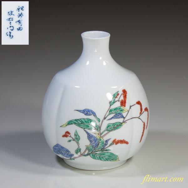 肥前有田焼花瓶