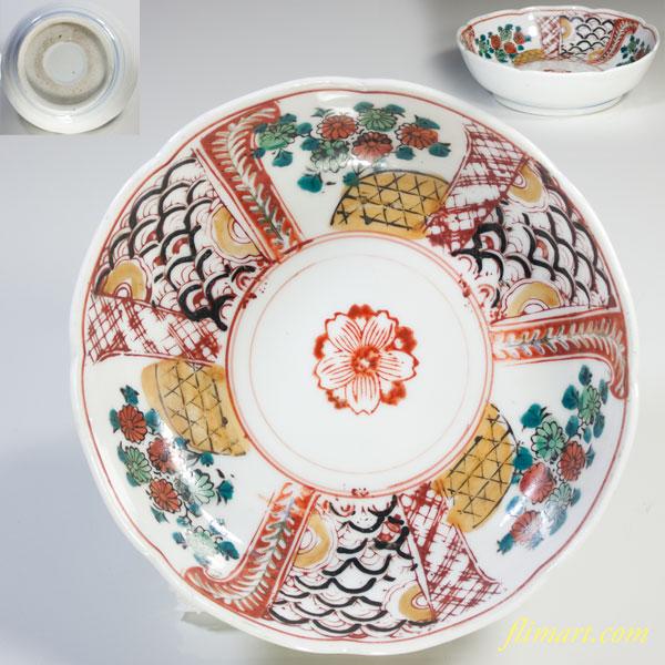 赤絵膾皿W2704