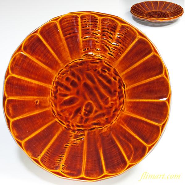 春慶塗八寸丸盆W3011