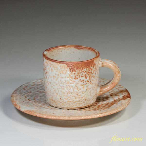 志野碗皿W2834