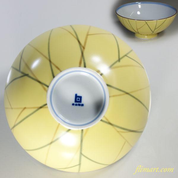 白山陶器飯茶碗