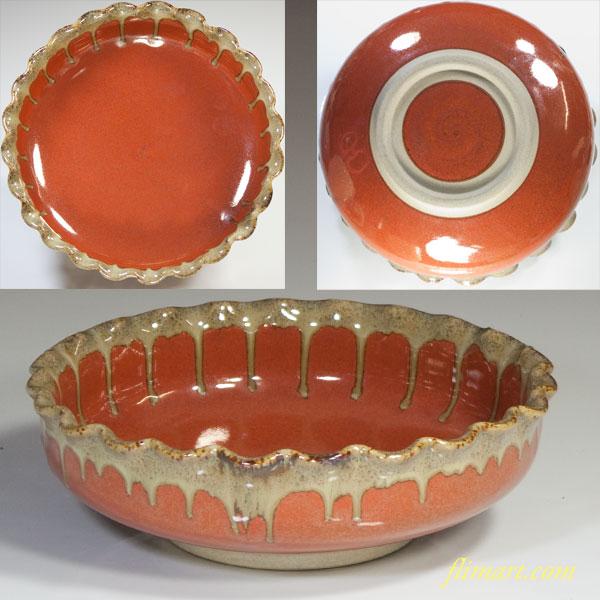 六寸鉢菓子鉢W2873
