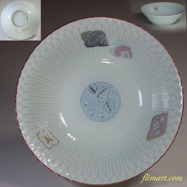 青白磁丼鉢W2928